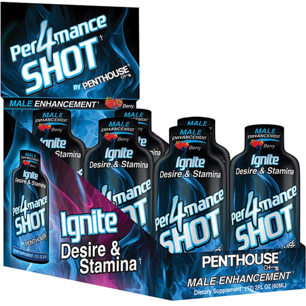 Penthouse Per4mance Male Libido Enhancement Drink (Pack of 6)
