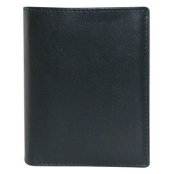 Buxton Men's Black Houston Deluxe Bi-fold Wallet
