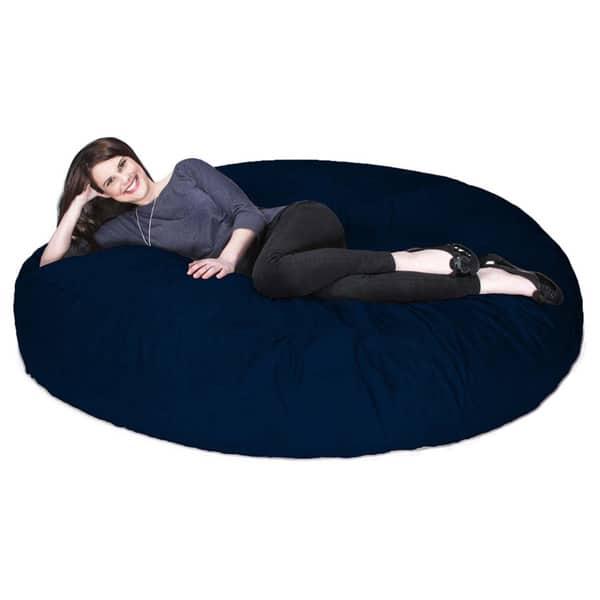 Fantastic Shop Jaxx 6 Cocoon Bean Bag Sofa Free Shipping Today Machost Co Dining Chair Design Ideas Machostcouk