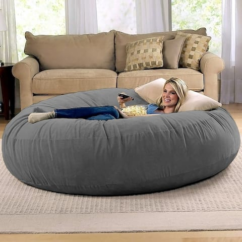 Jaxx 6' Cocoon Bean Bag Sofa