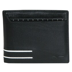 Buxton Men's Luciano Convertible Thinfold Bi-fold Wallet