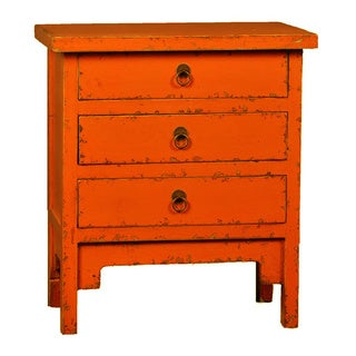 Antique Revival 3-drawer End Table
