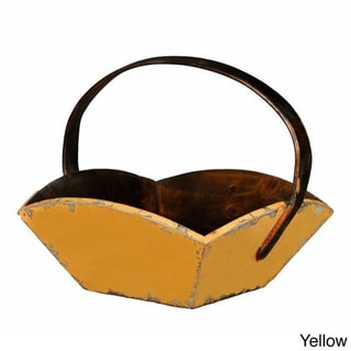 French Style Wooden Fruit Basket