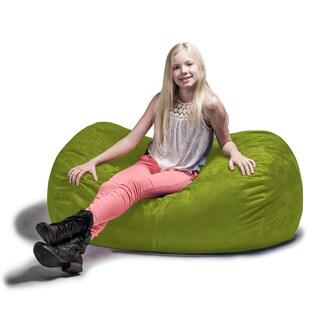 Jaxx 4' Lounger Bean Bag Chair (Option: Lime)
