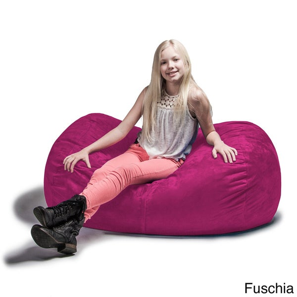 Lounger Bean Bag Chair jaxx 4' lounger bean bag chair - free shipping today - overstock
