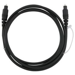 INSTEN 6-foot Digital Optical Audio TosLink Cable (Pack of 2) - Thumbnail 1