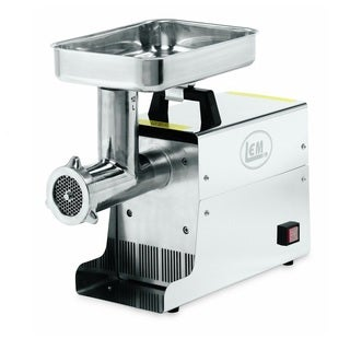LEM 12-pound .75 HP Stainless Steel Electric Meat Grinder