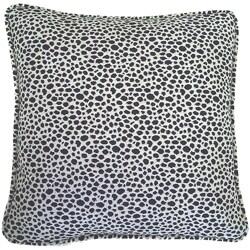 Corona Decor European Woven Animal Print Decorative Throw Pillow