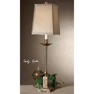 Uttermost Lowell Aged Bronze Buffet Table Lamp