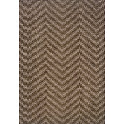 Hayworth Brown/ Grey Transitional Area Rug (9'10 x 12'9)