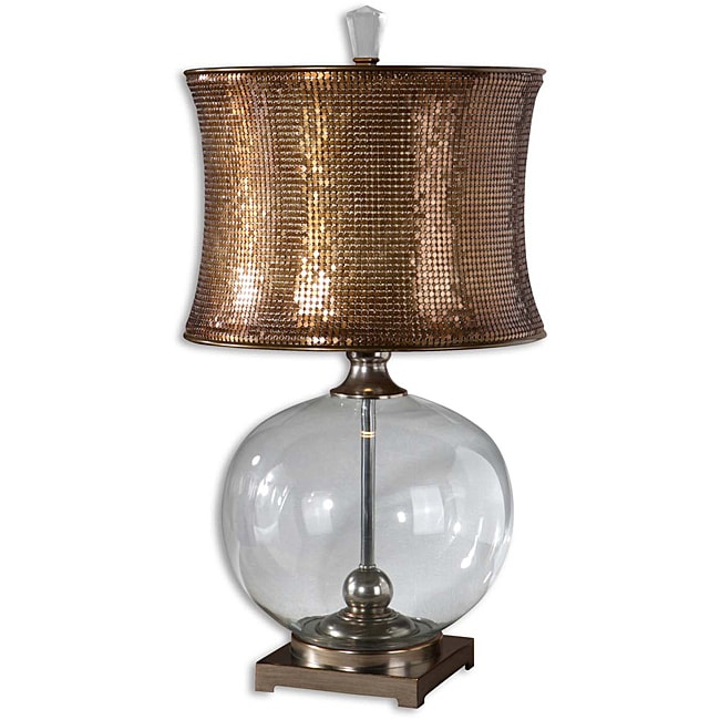 Uttermost Marcel Copper Lamp Free Shipping Today