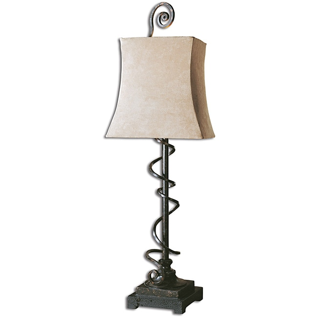 Uttermost Wrapped Spiral Buffet Lamp