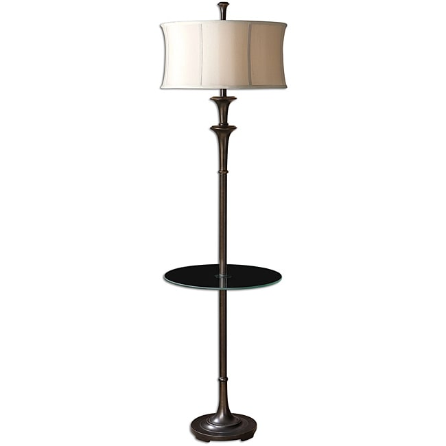 Uttermost Indoor Brazoria Oil Rubbed Bronze End Table Lamp