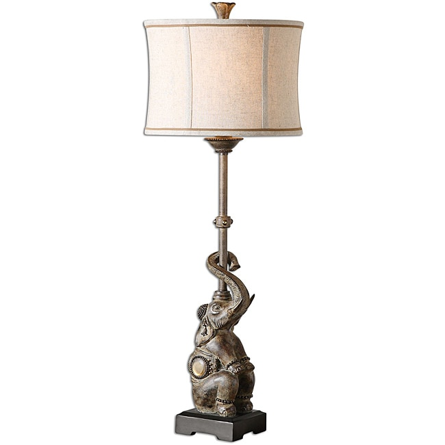 Uttermost Indoor Bhutan Antiqued Sandstone Buffet Lamp - Thumbnail 0