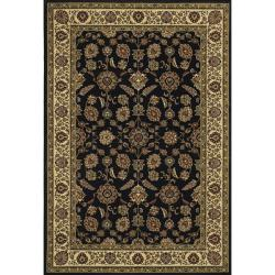 Astoria Red/ Black Traditional Area Rug (10' x 12'7) - Thumbnail 0