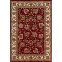 Astoria Red/ Ivory Oriental Area Rug - 10' x 12'7