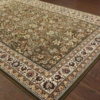 """Astoria Green/ Ivory Traditional Area Rug (10' x 12'7) - 10' x 12'7"""""""