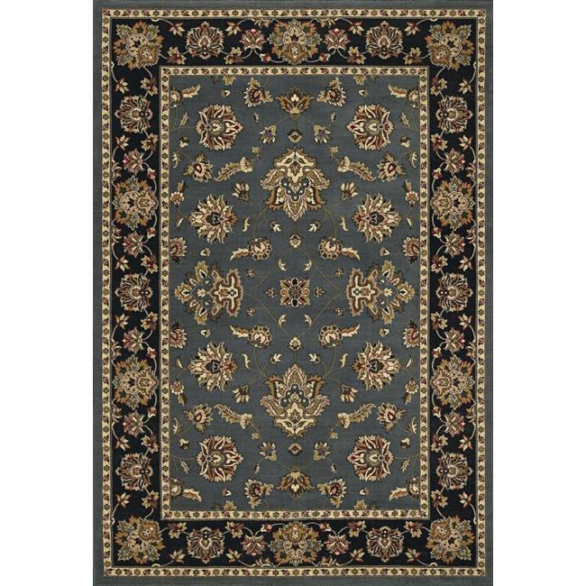 Astoria Blue and Black Traditional Area Rug (10u0026#39; x 12u0026#39;7) - Free Shipping Today - Overstock.com ...