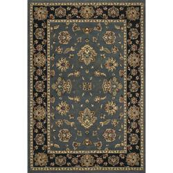 Astoria Blue and Black Traditional Area Rug - Thumbnail 0