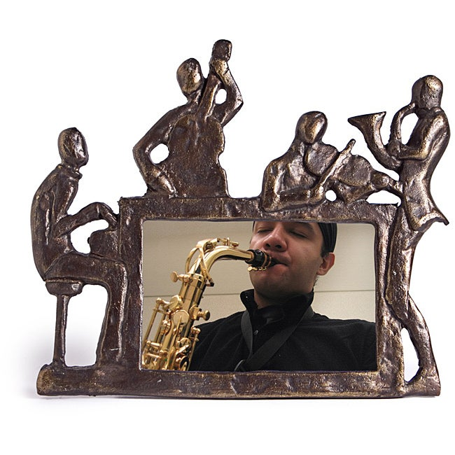 Danya B. Musicians Metal Photo Frame