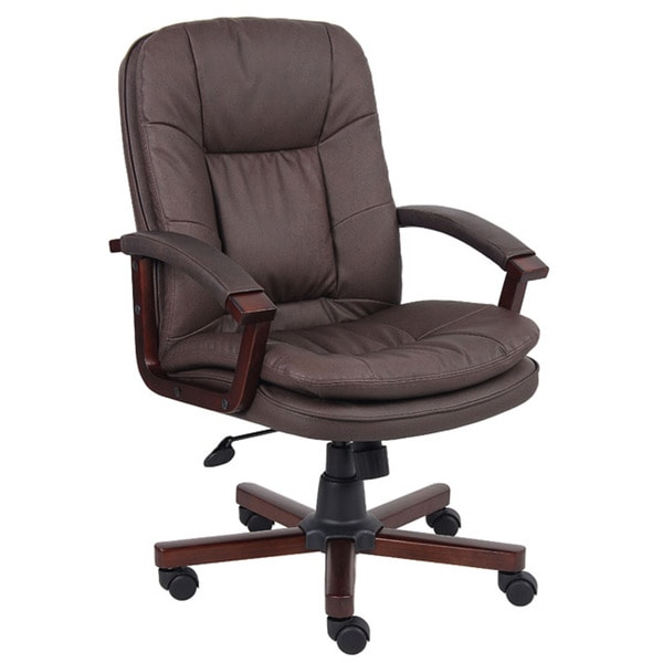 Boss Versailles LeatherPlus Executive Chair