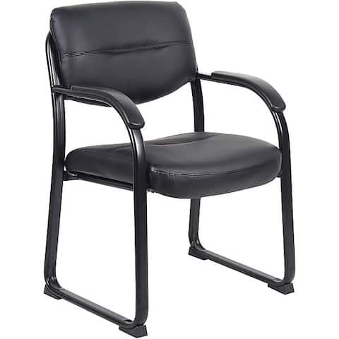 Boss LeatherPlus Guest Chair