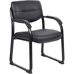 Boss LeatherPlus Guest Chair|https://ak1.ostkcdn.com/images/products/6304272/Boss-LeatherPlus-Guest-Chair-P13934005.jpg?impolicy=medium