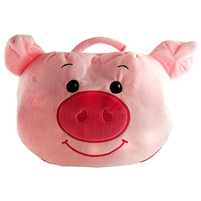H2W Piggy Pouch Blanket and Bag