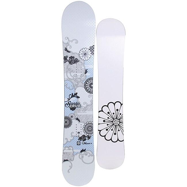 Santa Cruz Women's White Muse 154cm Snowboard