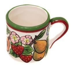 Fruit Medley Collection Hand-painted 5-piece Tea Set - Thumbnail 2