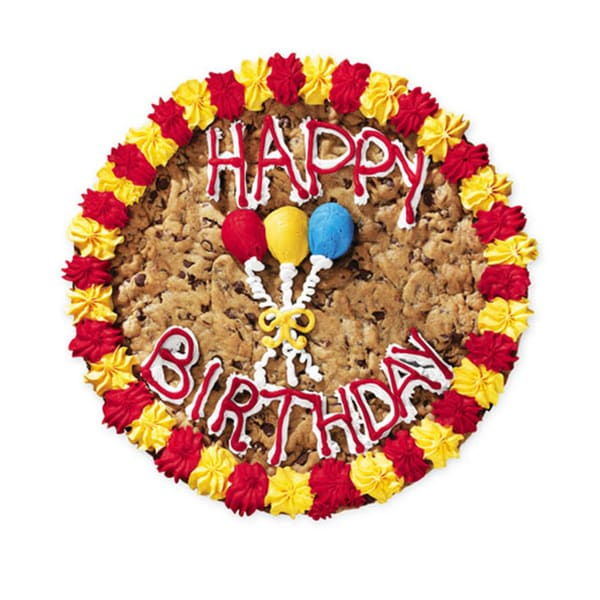 Shop Mrs Fields Happy Birthday Cookie Cake