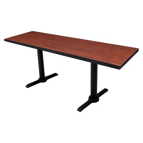 Regency 72x24 Rectangle Training Table with T-legs