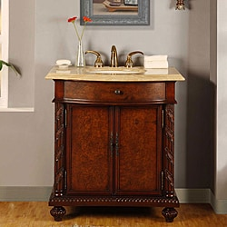 Silkroad Exclusive Single-sink 36-inch Bathroom Vanity