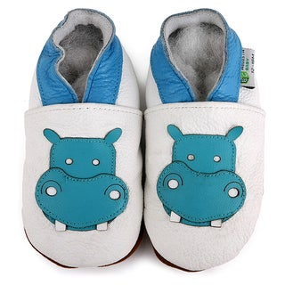 Hippo Soft Sole Leather Baby Shoes (3 options available)