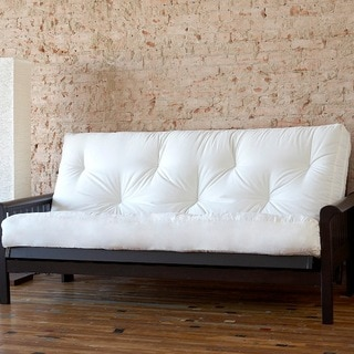clay alder home owsley full size 8 inch dual gel memory foam futon mattress   futons for less   overstock    rh   overstock