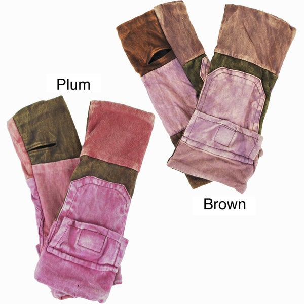 Cotton Fleece-Lined Pocket Hand Warmer (Nepal)