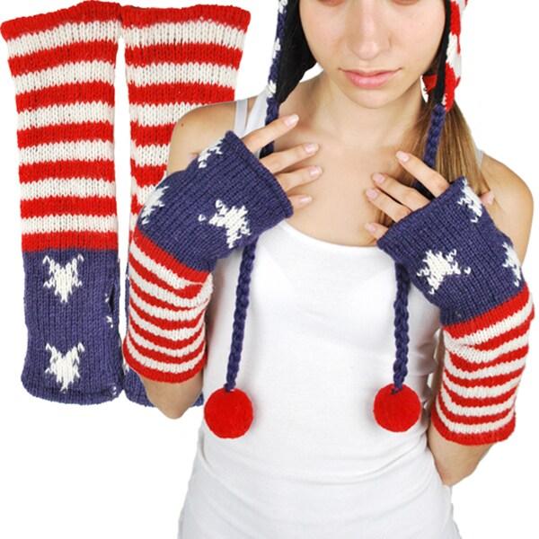 Wool Fleece-Lined USA Hand Warmer (Nepal)