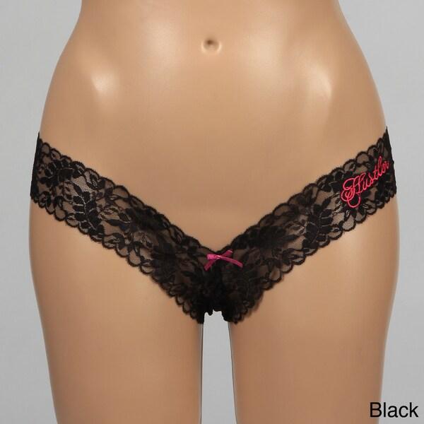 Hustler V-cut Lace Thong (Set of 2)