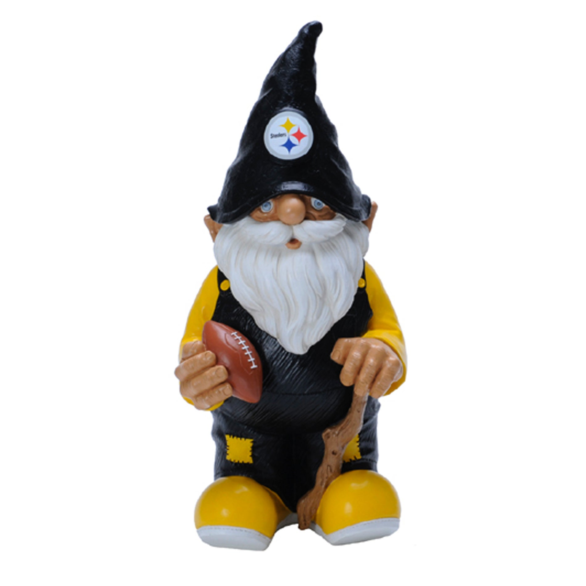 Forever Collectibles Pittsburgh Steelers 11-inch Garden Gnome