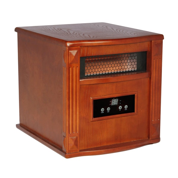 American Comfort Tuscany 1000-square-foot Solid Wood Portable Infrared Heater