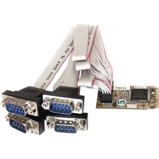 StarTech.com 4 Port RS232 Mini PCI Express Serial Card w/ 16650 UART
