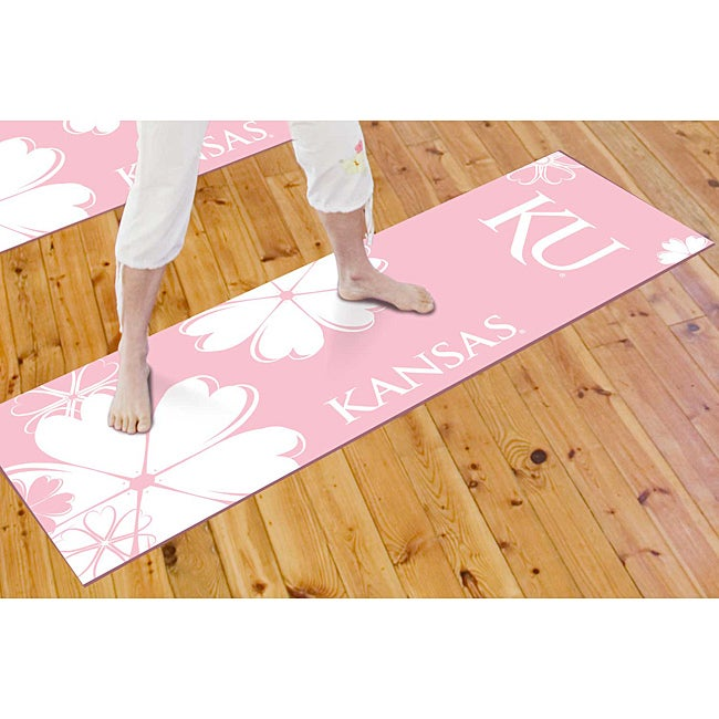 Fanmats University of Kansas Yoga Mat