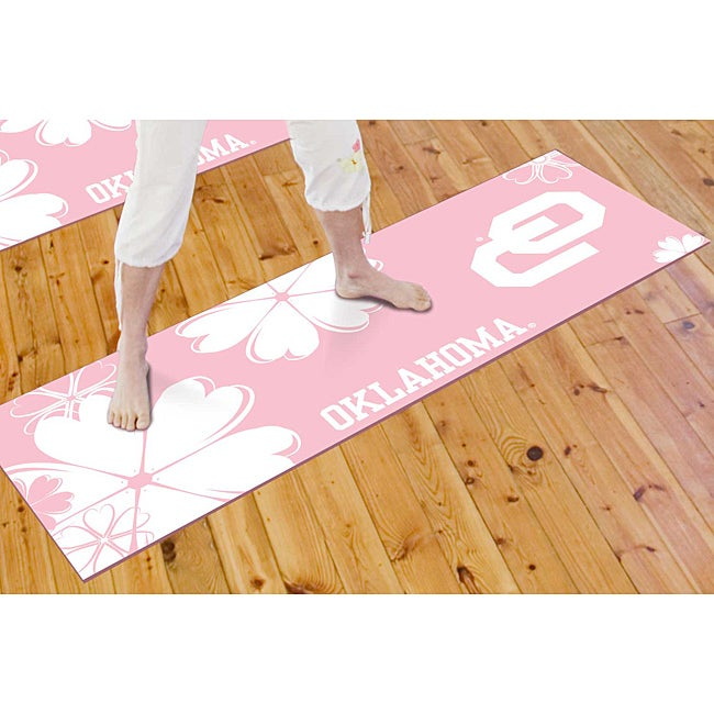 Fanmats University of Oklahoma Yoga Mat