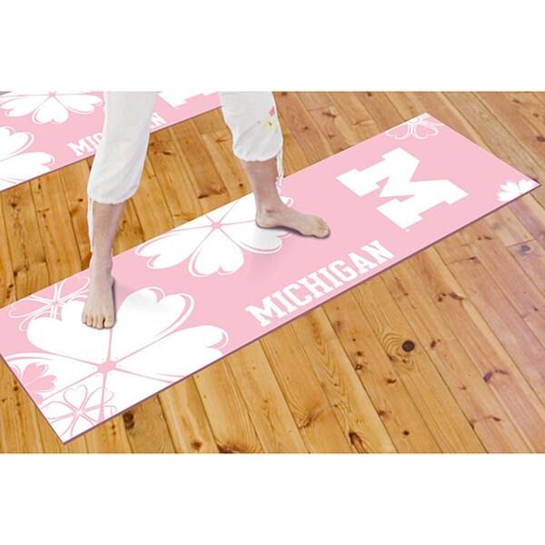 Fanmats University of Michigan Yoga Mat