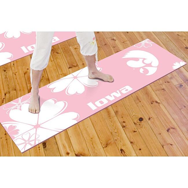 FANMATS University of Iowa Yoga Mat