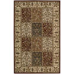 Nourison Hand-tufted Caspian Multi Wool Rug (2'6 x 4')