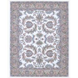 Nourison Hand-tufted Caspian Ivory Wool Rug (2'6 x 4')
