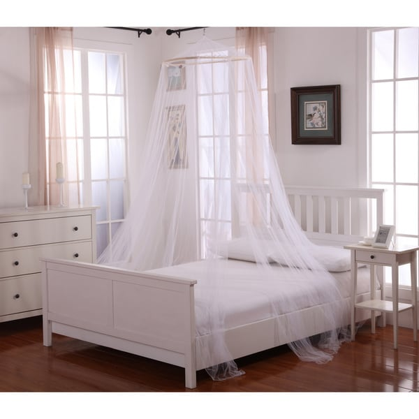 Oasis Round Hoop Bed Canopy & Oasis Round Hoop Bed Canopy - Free Shipping On Orders Over $45 ...