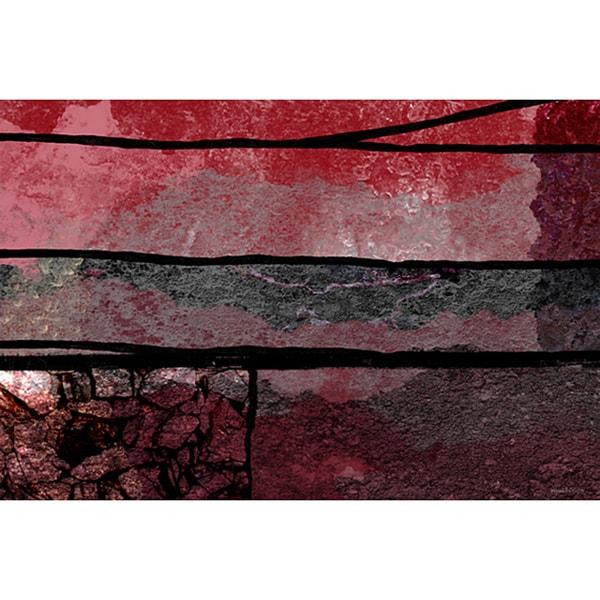 Maxwell Dickson 'GeoPhysics Abstract' Canvas Wall Art