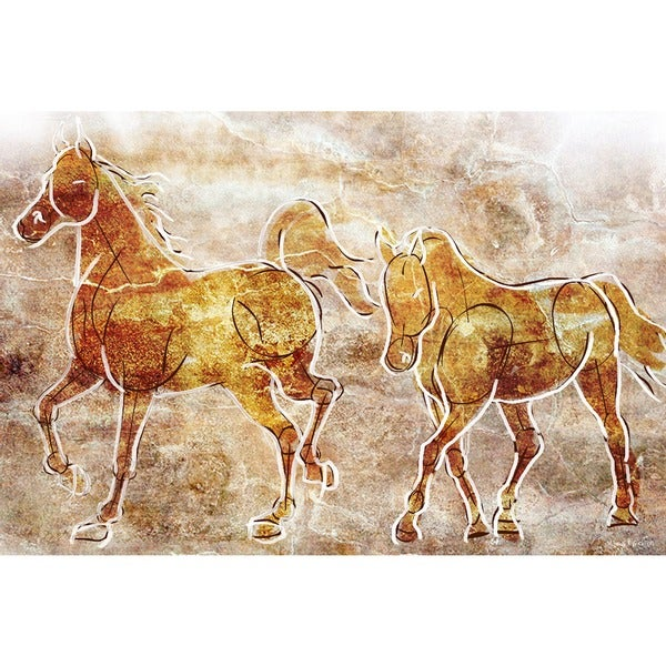 Maxwell Dickson 'Horses' Canvas Wall Art